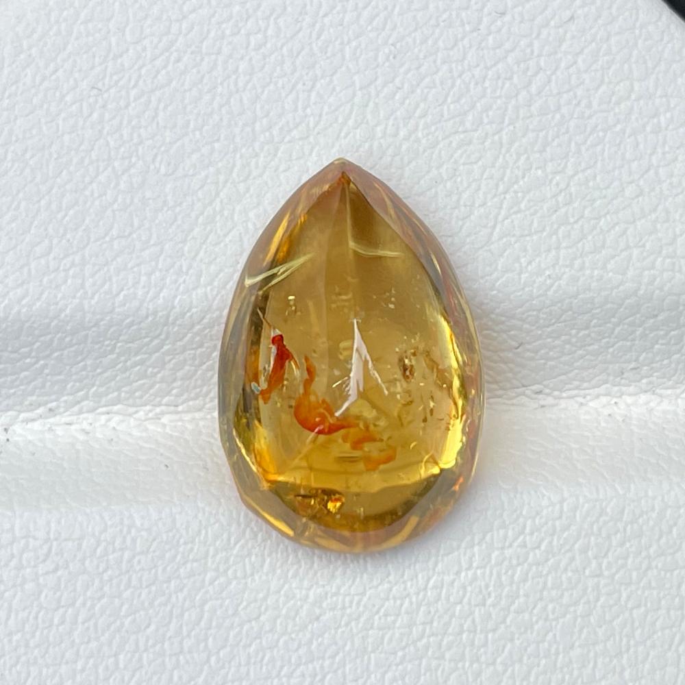 Golden Yellow Zircon 15.47 Cts