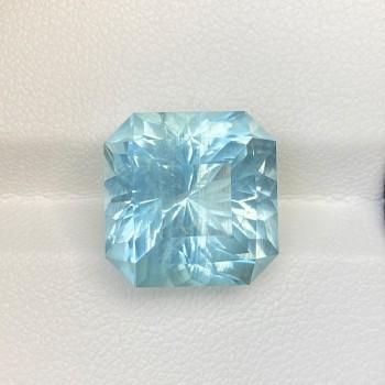 BLUE AQUAMARINE ASSCHER
