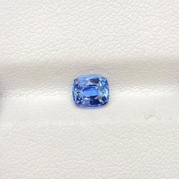SRI LANKA BLUE SAPPHIRE CUSHION
