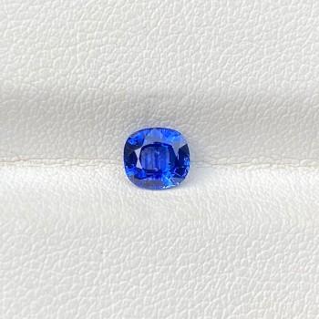 BLUE SAPPHIRE CUSHION 0.84
