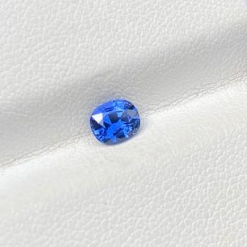 BLUE SAPPHIRE CUSHION 0.66
