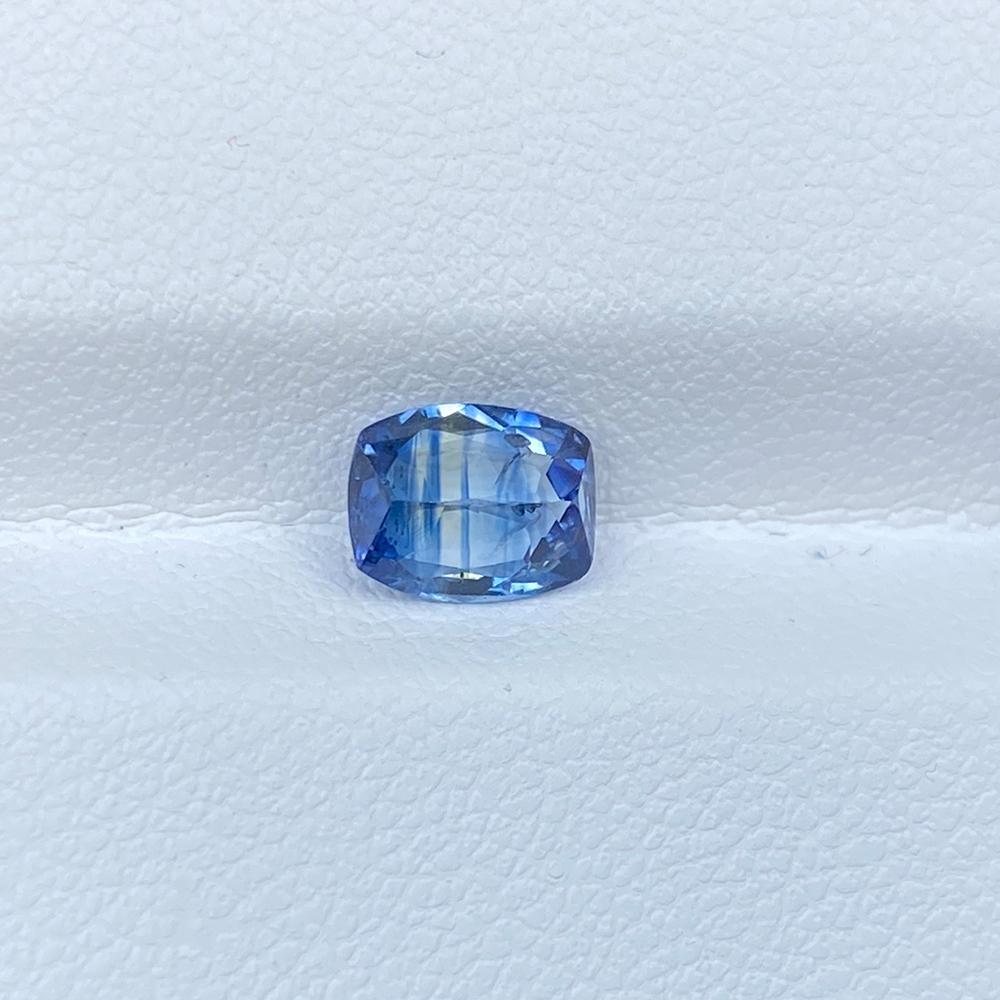 BLUE SAPPHIRE 1.22 CUSHION