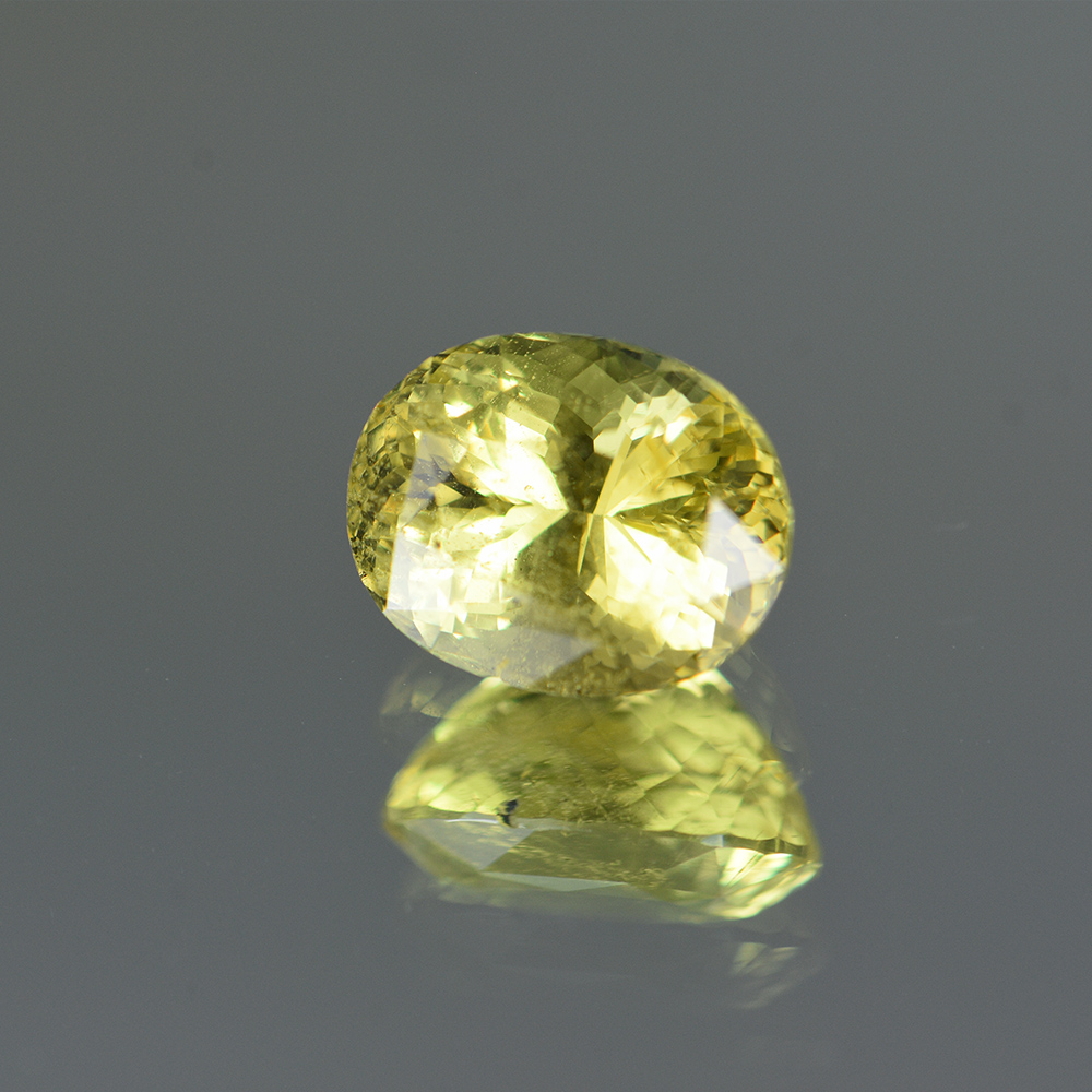 LEMON YELLOW CHRYSOBERYL 4.08CTS CHB381