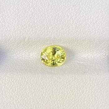 YELLOW CHRYSOBERYL OVAL