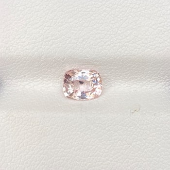 CERTIFIED UNHEATED PALE PINK SAPPHIRE