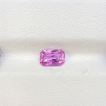 CERTIFIED PINK SAPPHIRE UNHEATED