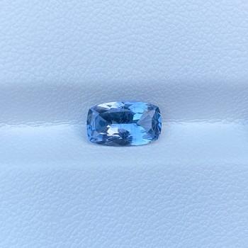 BLUE SPINEL CUSHION 1.38