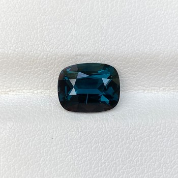 COBALT SPINEL BLUE CUSHION