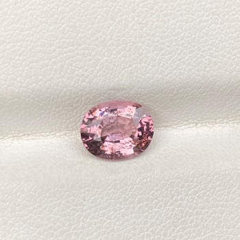 PEACH SPINEL OVAL