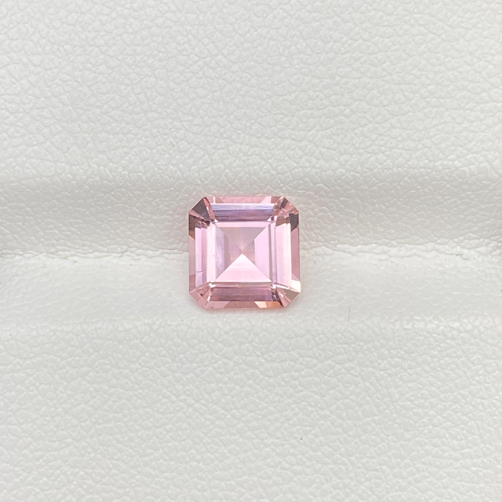 PINK TOURMALINE SQUARE EMERALD
