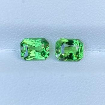GREEN TSAVORITE PAIR 69776
