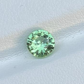 Green Tsavorite Round