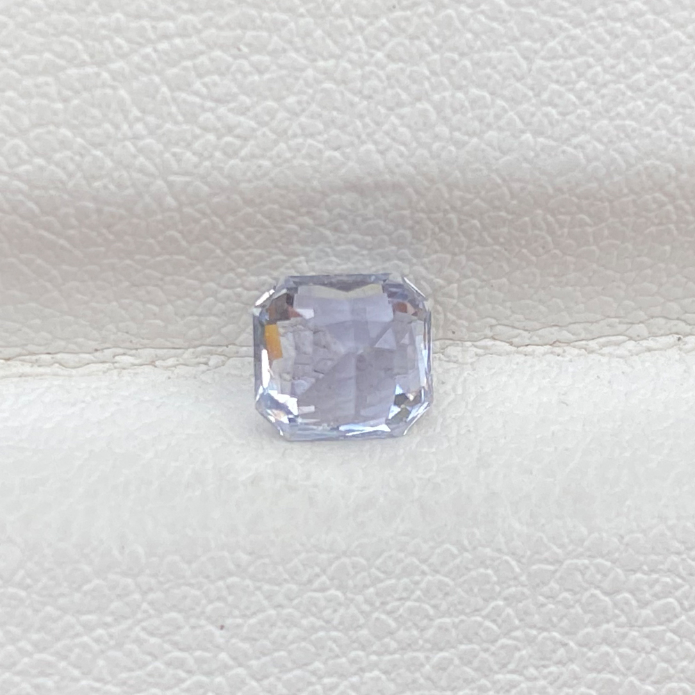 COLORLESS SAPPHIRE OCTAGON