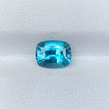 BLUE ZIRCON CUSHION